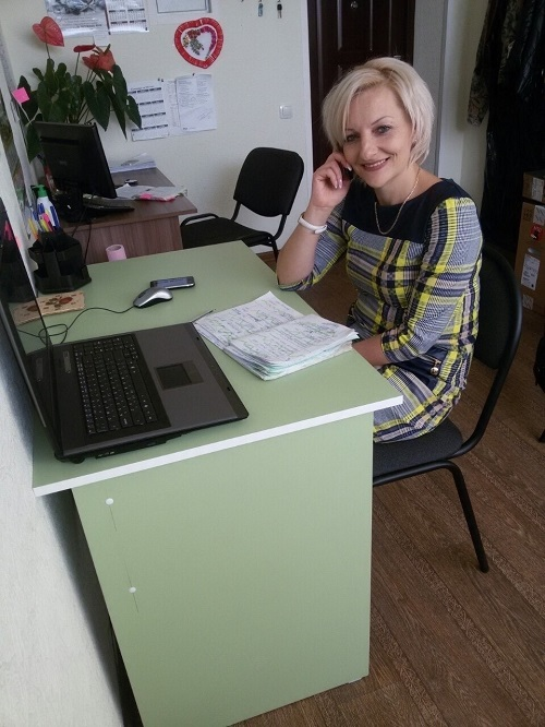 Савченко Ирина Олеговна - волонтер